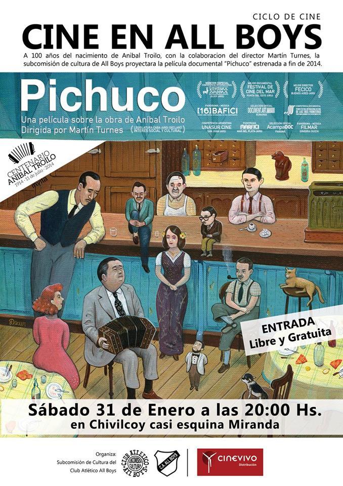"""CINE EN ALL BOYS: """" Pichuco """""""