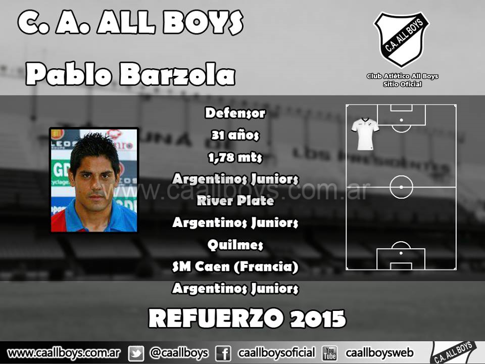 Pablo Bárzola All Boys