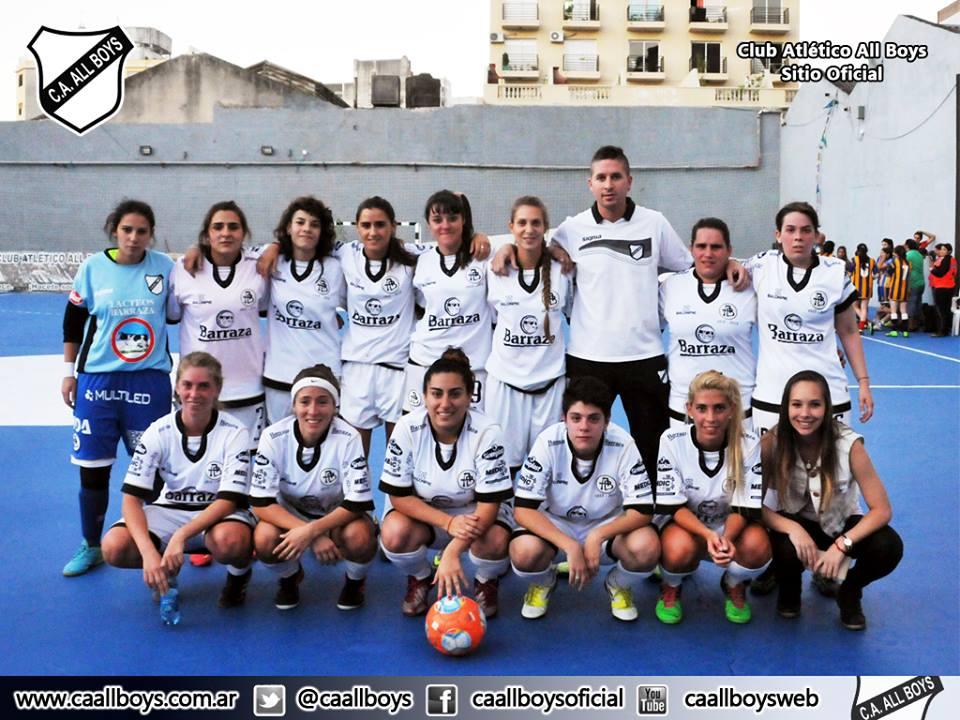 Futbol Femenino All Boys