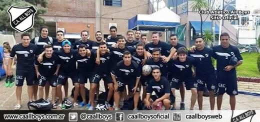 El futsal de ALL bOYS