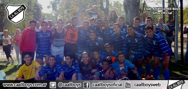 Las inferiores de All Boys clasificaron a la Zona Campeonato