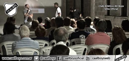 """""""Cine y Malvinas: noche emotiva en All Boys"""""""