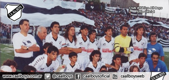 All Boys Campeón 1992/93
