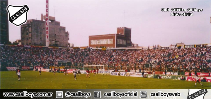 Hinchada de All Boys en Ferro 1993