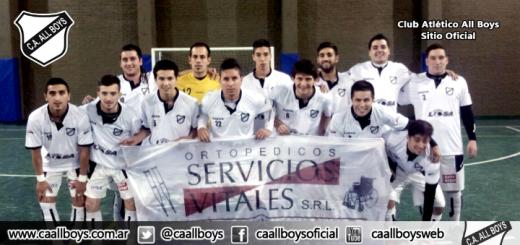 equipo futsal all boys