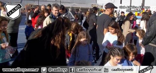 Se festejó el día del niño en el Predio Don Fernando Sánchez