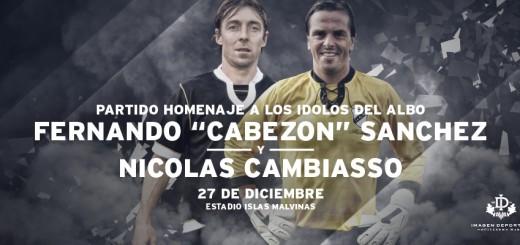 Partido despedida Nicolás Cambiasso y Fernando Sánchez All Boys