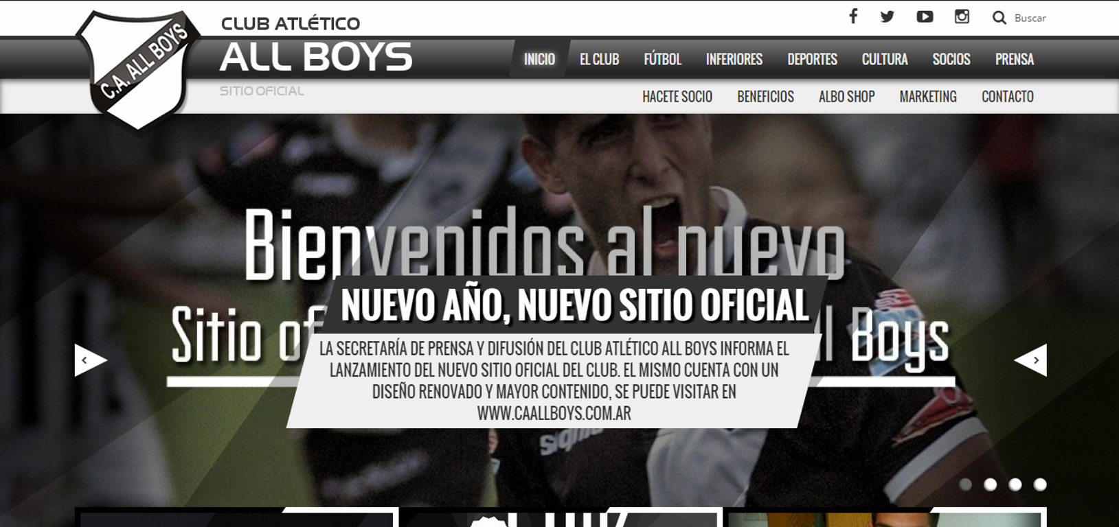 Nueva Pagina All Boys