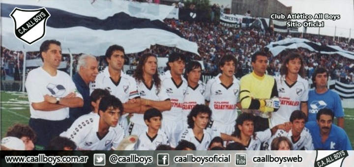 All Boys campeón 1993