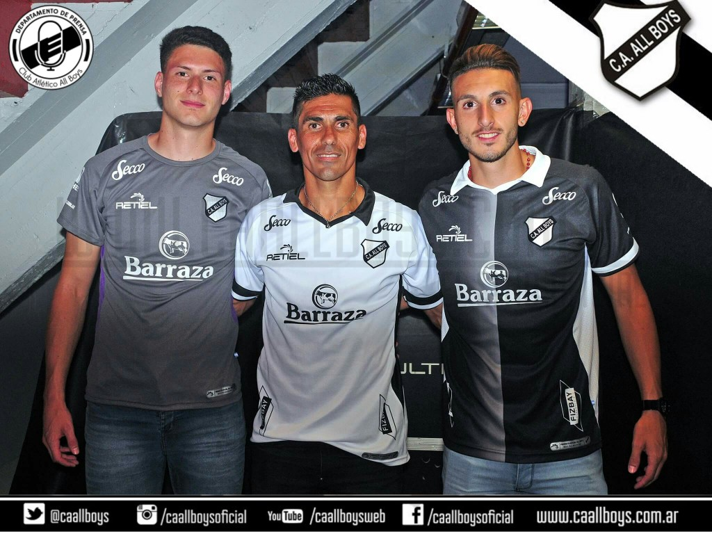Camisetas All Boys 2017 hechas por Retiel